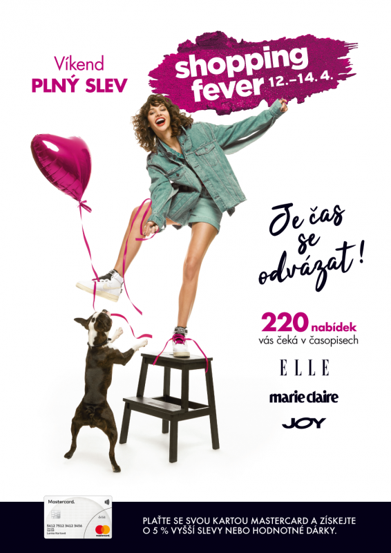 SHOPPING FEVER VE FORU – 12. až 14.4.2019
